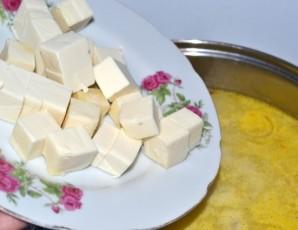 Суп с ветчиной и сыром - фото шаг 4