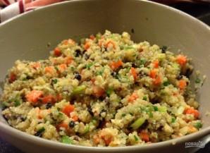 Салат с киноа и морковью - фото шаг 4
