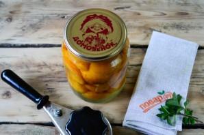 Консервация абрикосов дольками - фото шаг 8