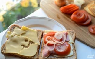 Тосты в бутерброднице - фото шаг 1