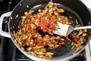 Жаркое с рыбой и морепродуктами в томатном соусе - фото шаг 2