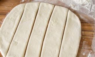 Сосиски в тесте без дрожжей - фото шаг 6