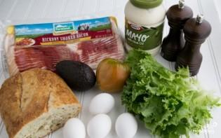 Бутерброды на завтрак - фото шаг 1