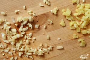 Жареный рис с имбирем - фото шаг 1