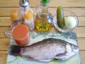 Жареная рыба с подливой - фото шаг 1