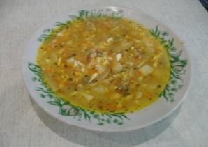 Куриный суп с зеленым горошком - фото шаг 6