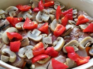Рагу из маринованного кролика с овощами и грибами - фото шаг 6
