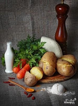 Вегетарианские зразы - фото шаг 1