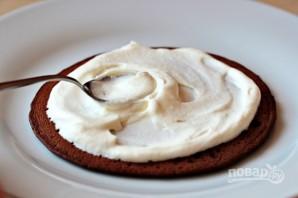 Торт из шоколадных блинчиков - фото шаг 5