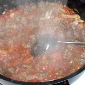 Ротини с итальянской колбасой - фото шаг 5