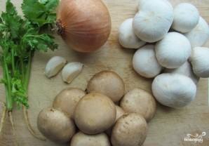 Пенне с грибами - фото шаг 1