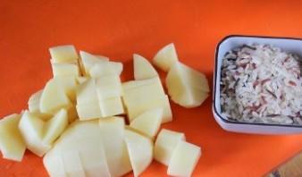 Суп из консервы с рисом - фото шаг 2