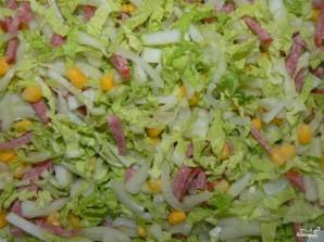 Салат из китайской капусты - фото шаг 3