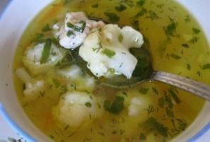 Суп с цветной капустой и фрикадельками - фото шаг 12