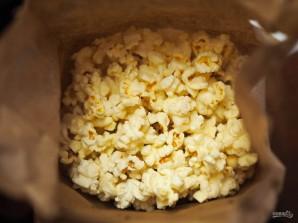 Попкорн в микроволновке с солью и маслом - фото шаг 6