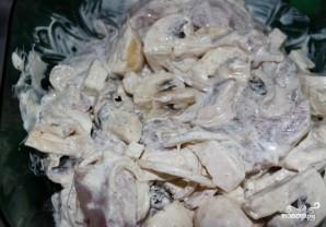 Жареные грибы со свининой - фото шаг 6