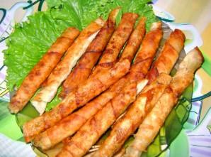 Жареный лаваш с сыром - фото шаг 3