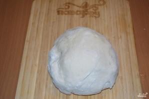 Пирожки с творогом из дрожжевого теста - фото шаг 1