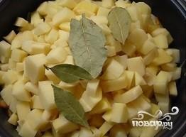Картофель с капустой в мультиварке - фото шаг 2
