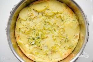 Пирог из картофеля и копченого лосося - фото шаг 6