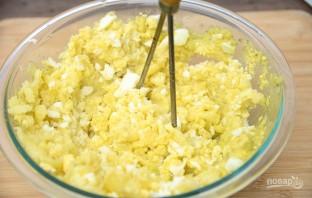 Пюре картофельное с яйцом - фото шаг 5