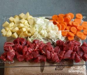 Запеченное мясо по-английски - фото шаг 1