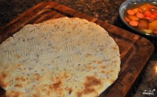 Картофельная пицца в духовке - фото шаг 3