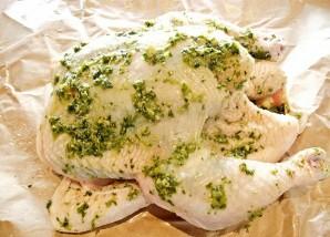Курица с соусом песто - фото шаг 4