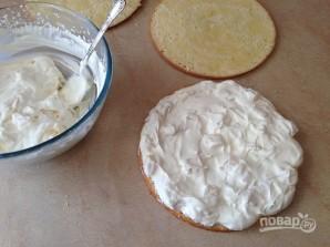 Бисквитный торт с лимонным вкусом - фото шаг 12