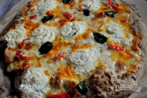 "Пицца ""4 сыра"" - фото шаг 6"