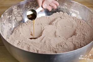 Шоколадный кекс без яиц - фото шаг 3