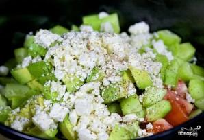 Овощной салат с авокадо - фото шаг 6