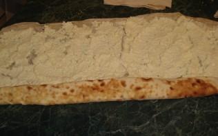 Пирог из лаваша с творогом - фото шаг 2