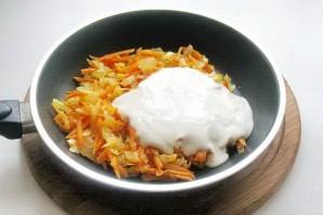 Фаршированный перец в сметанном соусе - фото шаг 6
