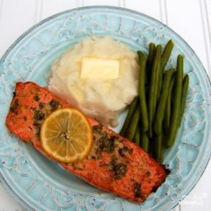 Запеченный лосось с чесноком и горчицей - фото шаг 7
