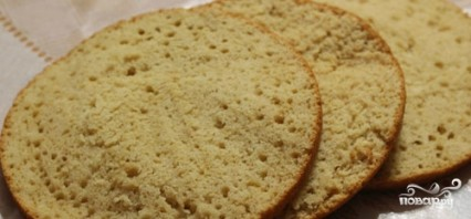 Торт на кефире в мультиварке - фото шаг 5