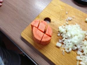 Суп-пюре из чечевицы зеленой - фото шаг 7
