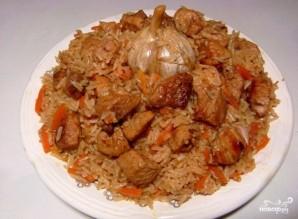 Плов из пропаренного риса со свининой - фото шаг 4