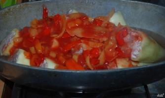 Фаршированный перец со свининой - фото шаг 8