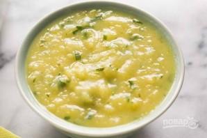 Картофельный суп с луком - фото шаг 7