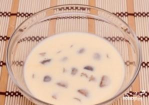 Шампиньоны в кляре - фото шаг 3