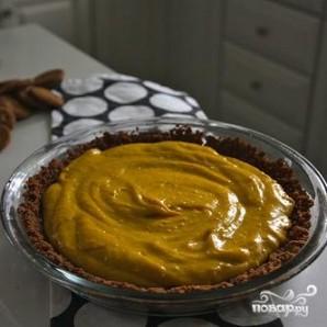 Пирог с тыквенной начинкой и взбитыми сливками - фото шаг 6