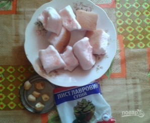 Вкусное соленое сало - фото шаг 1
