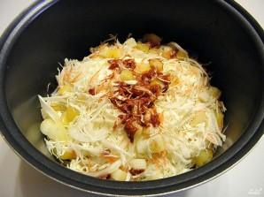 Солянка с кабачками и капустой - фото шаг 4