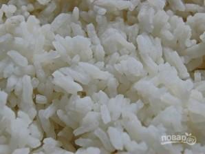 Салат из горбуши с рисом - фото шаг 1