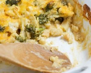 Запеканка из цветной капусты и брокколи - фото шаг 5
