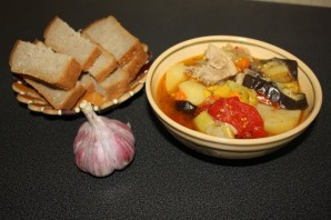Хашлама из говядины с картошкой - фото шаг 13
