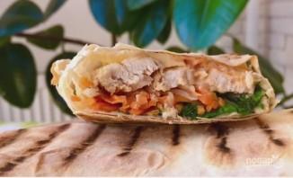 Вкусный домашний бутерброд (шаурма по-домашнему) - фото шаг 9