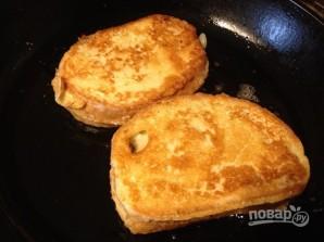 Горячий сэндвич с лососем - фото шаг 10