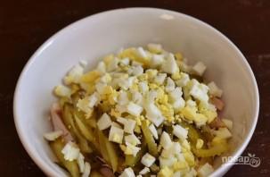 Салат с курицей и картошкой - фото шаг 3